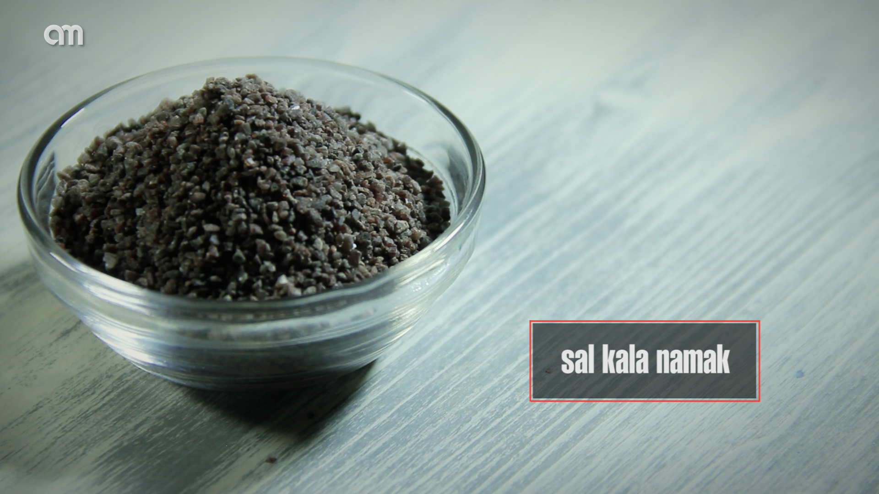 Sal Kala Namak, la sal del huevo frito