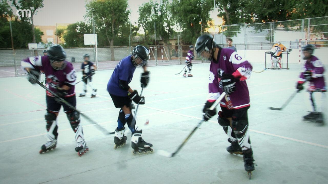 Hoy conocemos el hockey patines, un deporte en auge en Alcázar de San Juan