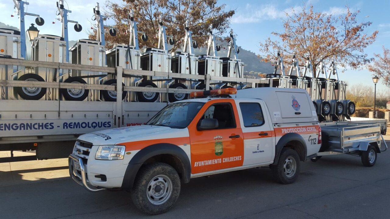 El Gobierno regional subvenciona este año uniformes y medios materiales a 170 agrupaciones de voluntarios de Protección Civil