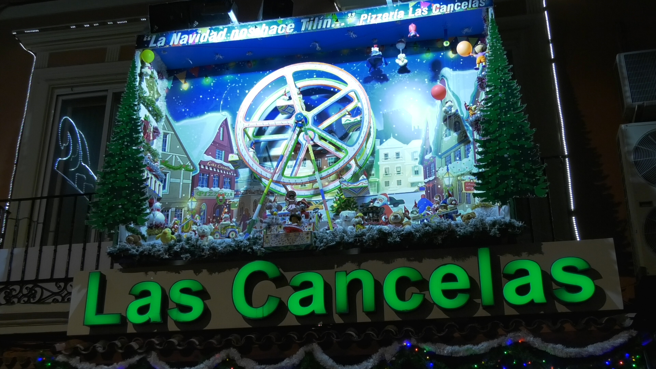 Cancelandia da paso a la Navidad en Alcázar
