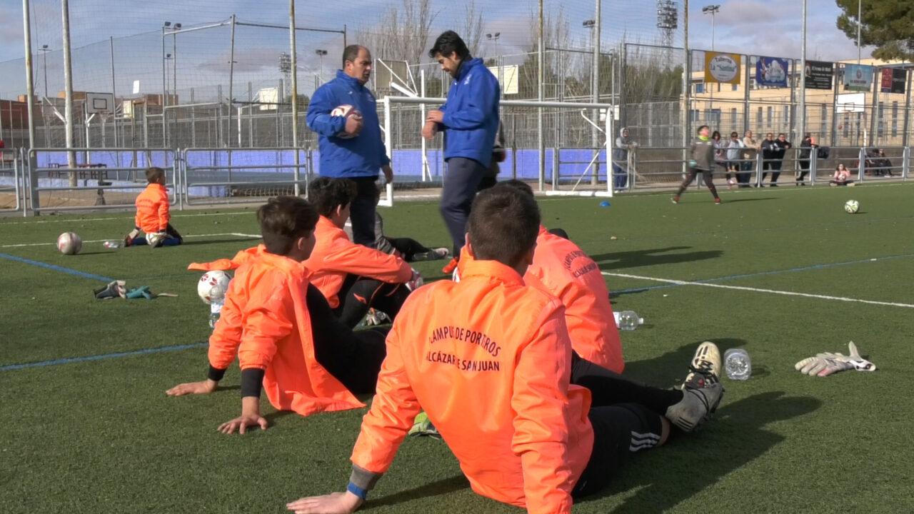 Batalla de porteros del I Campus de Porteros Ciudad de Alcázar
