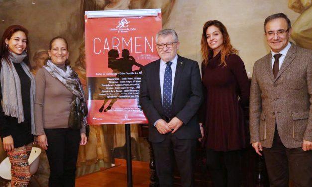 El Ballet Camagüey de Cuba actuará en los principales escenarios de Castilla-La Mancha