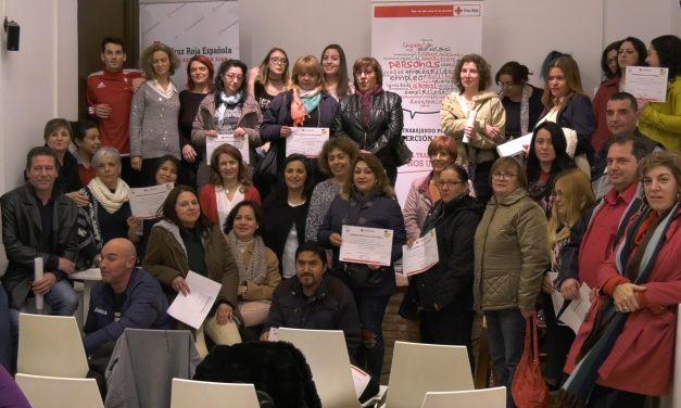 Cruz Roja Alcázar de San Juan oferta cuatro nuevos cursos para personas desempleadas, uno de ellos con certificado de profesionalidad