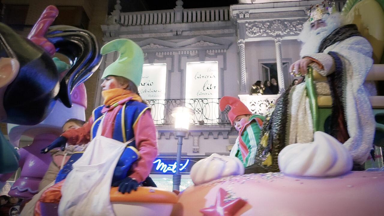 Fantasía e ilusión han sido los protagonistas de la Cabalgata de Reyes de Alcázar de San Juan