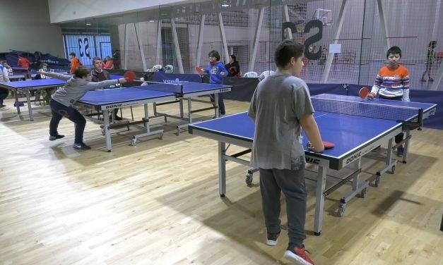 Comienza la Liga Escolar de Tenis de Mesa de Alcázar