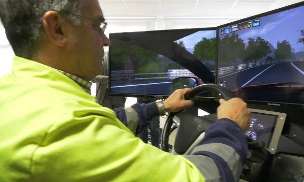 Taller de Conducción en Simuladores de Alta Inmersión para los trabajadores del ayuntamiento