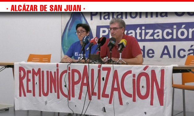 La Plataforma contra la Privatización de Aguas de Alcázar solicita la convocatoria inmediata de la Mesa del Agua al Ayuntamiento