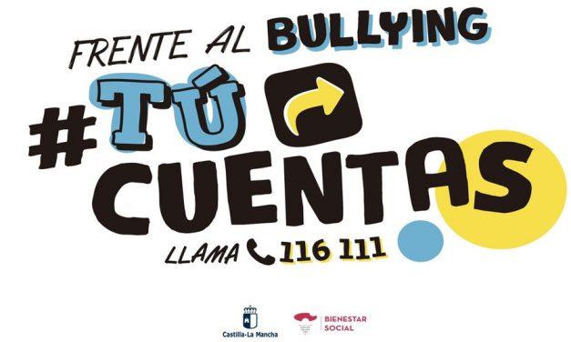 El programa #TúCuentas de Castilla La Mancha contra el acoso y ciberacoso incorpora un chat de atención a menores