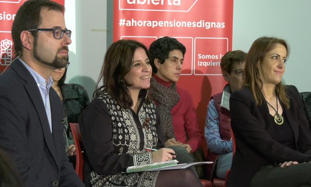 El PSOE realiza una asamblea abierta para tratar la sostenibilidad del sistema de pensiones actual