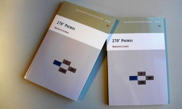 """Hortensia Llamas presenta """"270º Poemas"""" un poemario intimista y muy personal"""