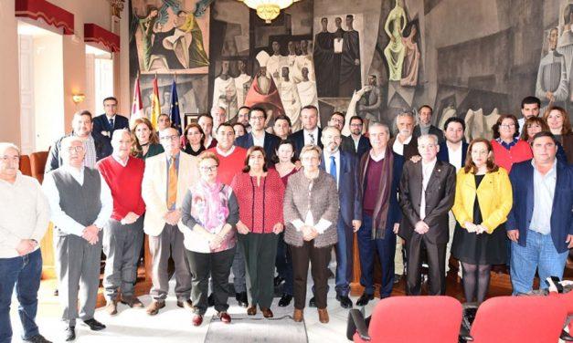 Homenaje y reconocimiento a los trabajadores de la Diputación jubilados en 2017