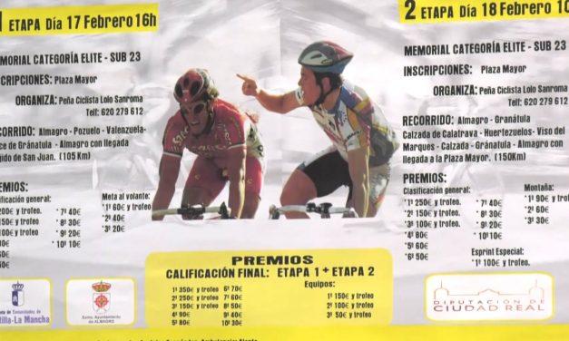"""Este fin de semana se disputa la XIX carrera ciclista Memorial """"Manuel Sanroma"""""""