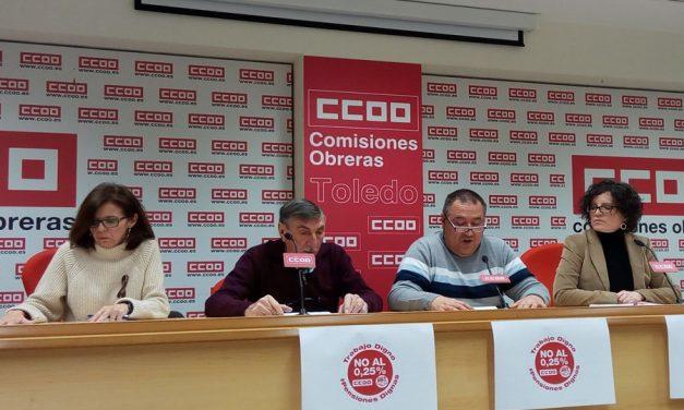 UGT y CCOO llaman a las movilizaciones en defensa de las pensiones y el trabajo digno