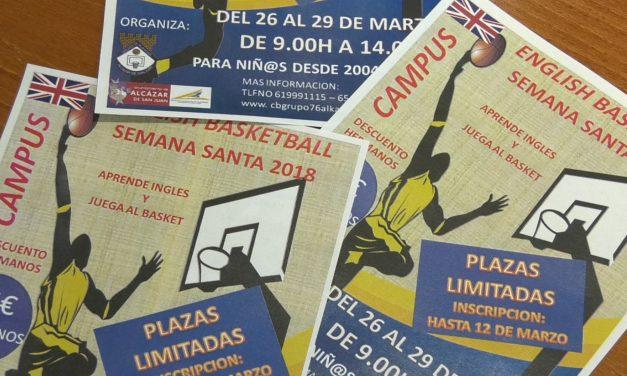 El Grupo 76 pone en marcha el III Campus Bilingüe de Baloncesto para Semana Santa