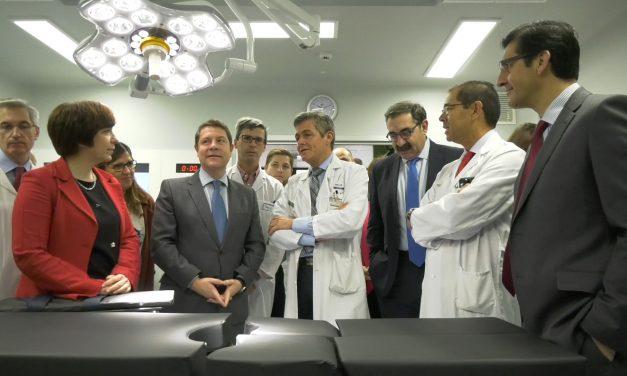El Gobierno regional visita los nuevos quirófanos del Hospital Mancha Centro