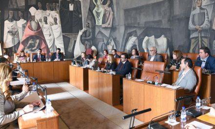 El Pleno de la Diputación aprueba 7 millones de euros en inversiones en la capital y en 63 municipios