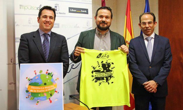 """Escolares de 30 centros educativos participarán en el reto """"Castilla-La Mancha da la vuelta al mundo"""" recorriendo 30.648 kilómetros"""