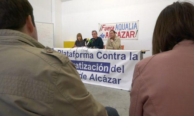 La Plataforma contra la Privatización de Aguas de Alcázar critica la encuesta telefónica que evalúa la gestión de Aguas de Alcázar