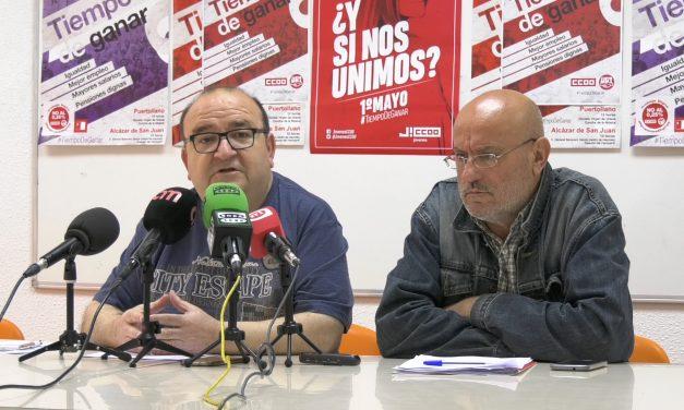 Igualdad, mejor empleo, mayores salarios y pensiones dignas son los pilares de la manifestación del 1 de mayo