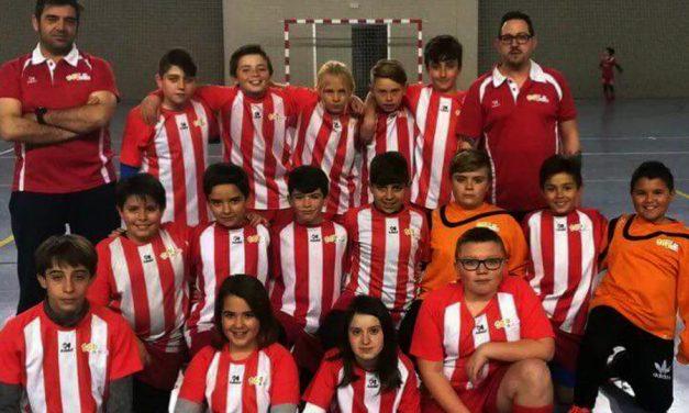 El alevín del CEIP Juan de Austria alcazareño se alza con el título de campeón provincial de fútbol sala