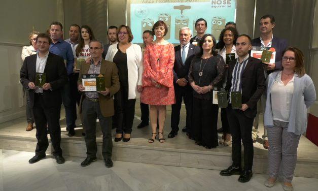 Entrega de los premios del IX Concurso Regional de Vinos '1.000 no se equivocan' en reconocimiento a los mejores caldos de Castilla-La Mancha