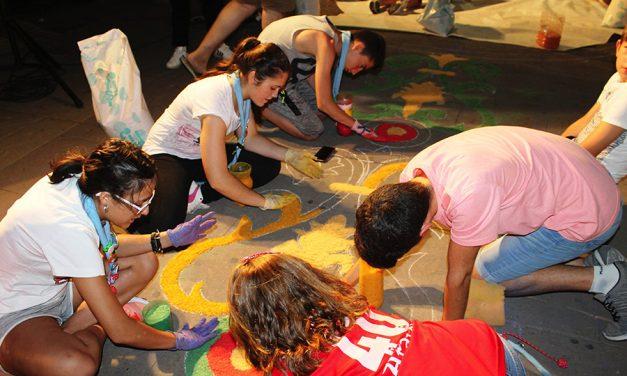 Herencia engalana sus calles para la festividad del Corpus Christi