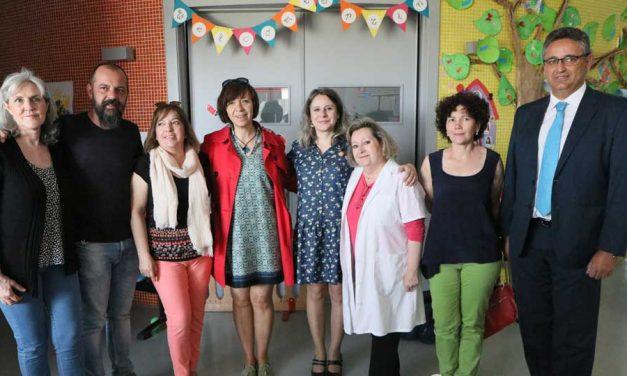 La Directora General del Instituto de la Mujer de Castilla-La Mancha visita las instalaciones de la Escuela Municipal Infantil 'El Tobogán'