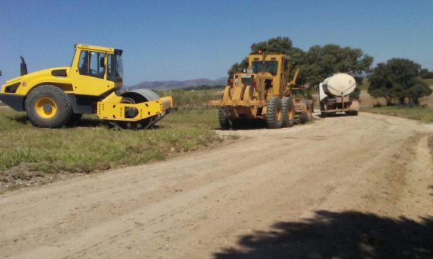 60 km de caminos agrícolas del término de Alcázar han sido arreglados este año