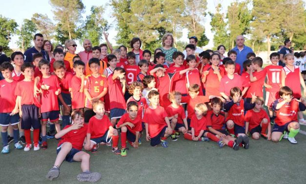 Más de 600 niños participan en las Jornadas de Convivencia de Deporte Escolar en Alcázar