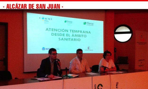 Alcázar de San Juan acogió una jornada sobre el nuevo modelo de atención temprana centrado en la familia organizada por Plena inclusión CLM
