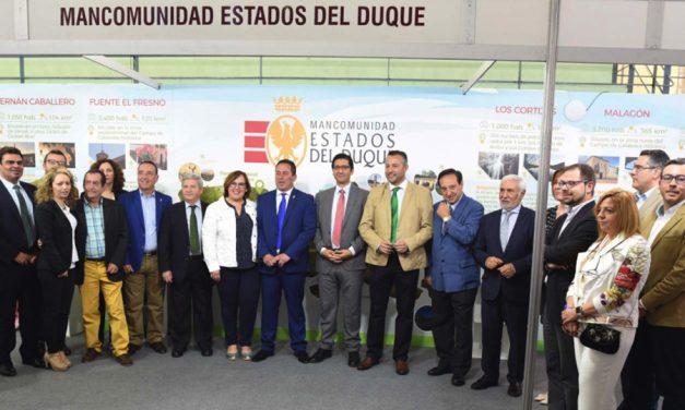 Caballero ha afirmado en la inauguración de Ferduque que pedirá al nuevo Gobierno que esté atento a las demandas del mundo rural