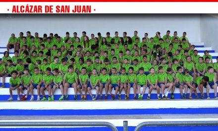 El XIII Campus de Fútbol de Alcázar de San Juan, pasa con nota esta edición y pone el listón muy alto tras su viaje para conocer San Mamés