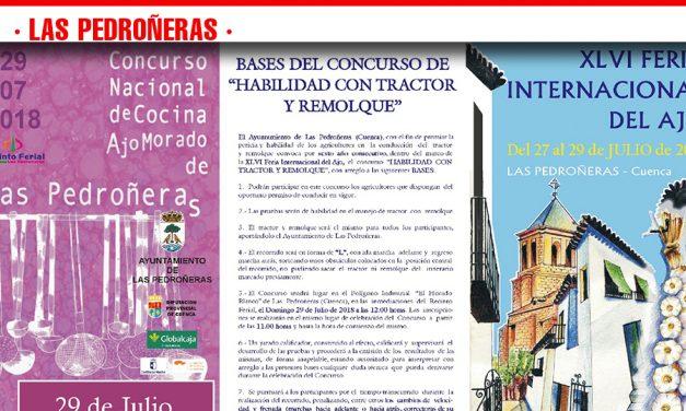 Las Pedroñeras (Cuenca) celebrará la XLVI Feria Internacional del Ajo el próximo fin de semana