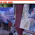 Otra forma de ver Alcázar con el XVIII Certamen Nacional de Pintura Rápida Nocturna 'Ángel Lizcano'