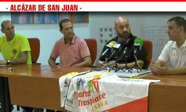 Acuerdo de colaboración entre la Asociación de Deporte y Trasplante de España y el club Más Pulsacioness para participar en la Titán de La Mancha