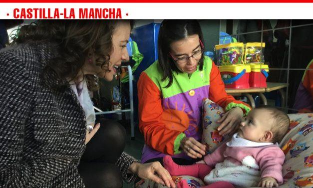 El Gobierno de Castilla-La Mancha atiende en el primer semestre a 4.409 menores en los servicios de Atención Temprana