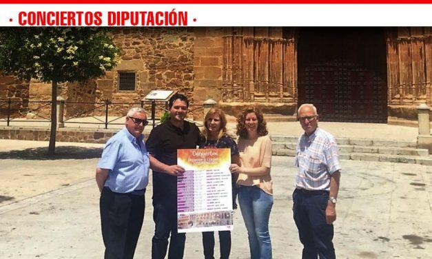"""""""La Unión"""" actúa en Torrenueva dentro de los """"Conciertos en Espacios y Lugares Emblemáticos de la Diputación"""""""