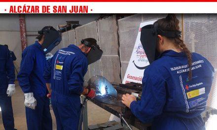 """Cruz Roja en Alcázar de San Juan pone en marcha un curso de """"Soldadura básica y mantenimiento"""""""