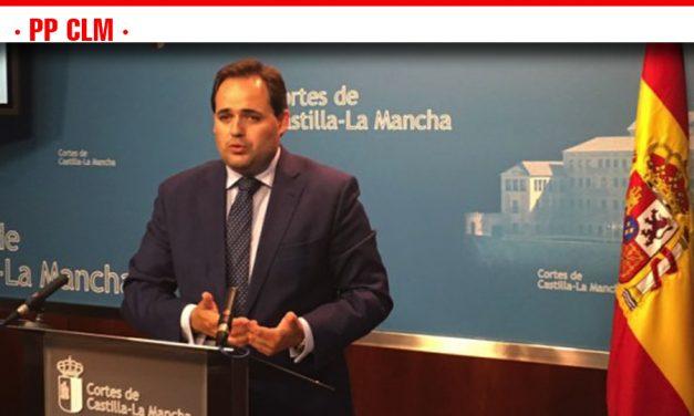 """Núñez: """"La política de fomento y de inversiones en infraestructuras de Page y Podemos es un auténtico fracaso"""""""