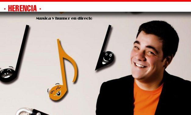 El domingo noche de humor y música con Jesús Arenas
