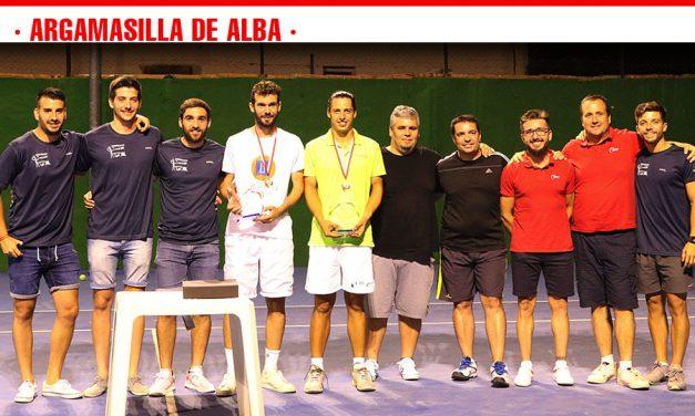 El valenciano Carlos García Villanueva se impone en el I Open de Tenis Nacional de Argamasilla de Alba
