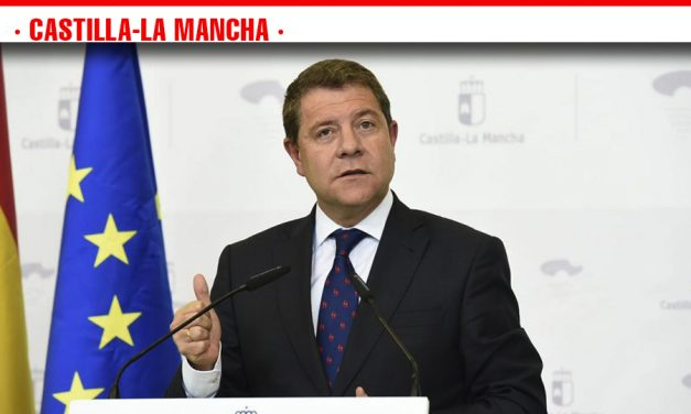 """García-Page: """"Si alguien está esperando que cambie mi discurso sobre agua porque haya cambiado el Gobierno de España, se equivoca"""""""