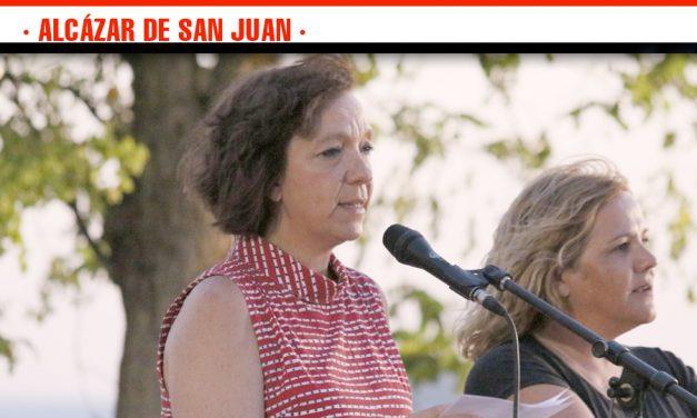 El Barrio de la Pradera inaugura sus fiestas con el pregón de la alcaldesa de Alcázar de San Juan, Rosa Melchor