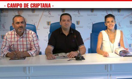 Campo de Criptana presenta la programación de actos de la Feria y Fiestas en honor al Santísimo Cristo de Villajos