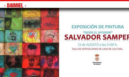 """Exposición de Salvador Samper """"Desde el interior"""", en Daimiel"""