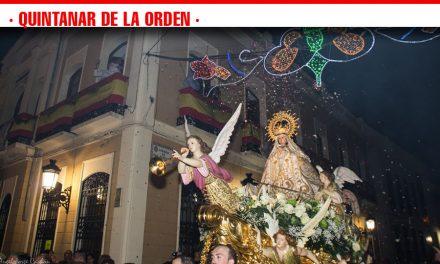 Quintanar de la Orden se vuelca con su Patrona, la Virgen de la Piedad