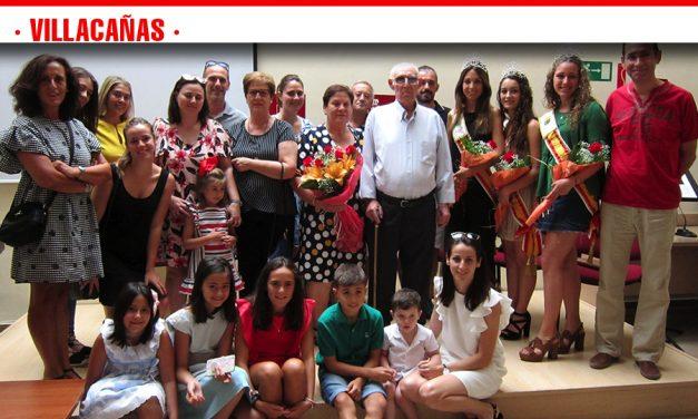 Villacañas rinde homenaje a sus mayores en la persona de Dionisio Checa Fernández