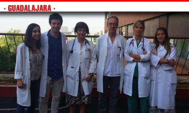 El Hospital de Guadalajara, premiado por un trabajo sobre un protocolo para mejorar la recuperación en ancianos con fractura de cadera
