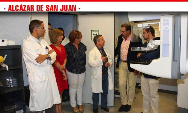 Más de 650 pacientes se han beneficiado en el Hospital Mancha Centro del nuevo mamógrafo digital con tomosíntesis