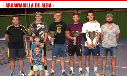 El madrileño Sergio Esteban se impone en el XVI Maratón de Tenis Individual de Argamasilla de Alba